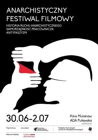 Anarchistyczny Festiwal Filmowy 2017 - Plakat